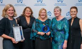Uni of Wollongong with their award
